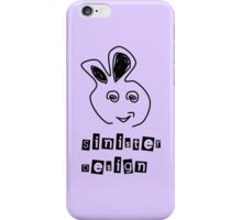 Angry Rubbit 00005 iPhone Case/Skin