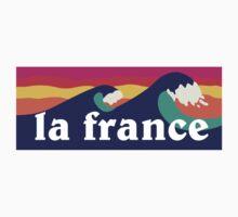 La France surfing waves Kids Clothes