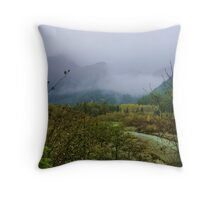 The Elk River Valley Throw Pillow