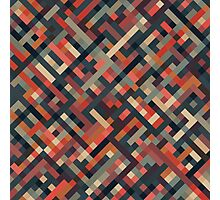 Geometric Pattern Photographic Print