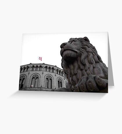 Løvebakken Greeting Card