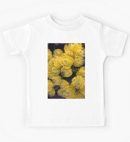 Yellow Flowers Kids Tee