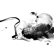 Death of a Light Bulb by Karri Klawiter