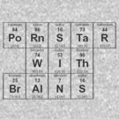 Periodic Table Pornstar by caymanlogic