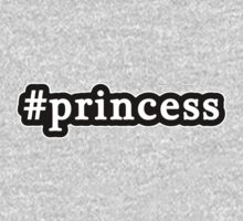 Princess - Hashtag - Black & White Kids Clothes