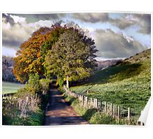 The Road to Delcombe Farm Poster