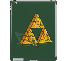Triforce completed (v2) iPad Case/Skin