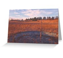 Wading Pool - Echo Drive In Greeting Card