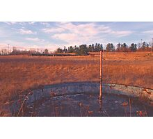 Wading Pool - Echo Drive In Photographic Print
