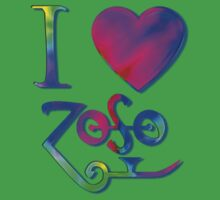 I Love ZoSo by Sara Pixel Pixie