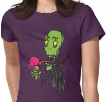Raspberry Ghoul Womens Fitted T-Shirt