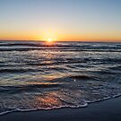 Sunrise Over the Atlantic Ocean by Chloe Garfield