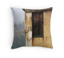 Don't Step Out Throw Pillow