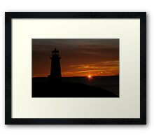 Going...Going... Framed Print