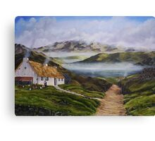 Irish Morning Mist - Oil Painting Canvas Print