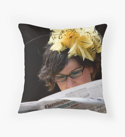 Study the Form Throw Pillow