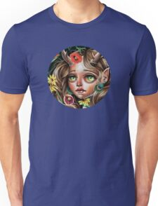 Wild Flower :: Pop Surrealism Little Scamp Unisex T-Shirt