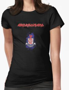 Airdrie Maiden Womens Fitted T-Shirt