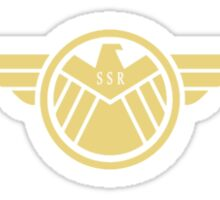Agent Carter (badge) Sticker
