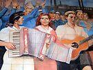 East German Socialist Mural, Berlin by buttonpresser