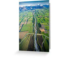 Canterbury Plains Greeting Card