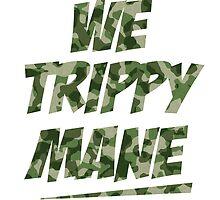 We Trippy Mane Camo by LouisCera