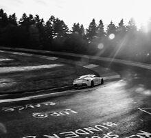 Aston Martin, Karussell Monochrome by BridgeToGantry