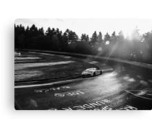 Aston Martin, Karussell Monochrome Canvas Print