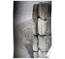 Concrete Blocks Poster