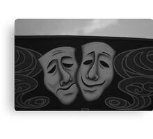 Sad or Happy Canvas Print