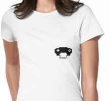 scree~ badge Womens Fitted T-Shirt