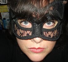 Masked Woman V by Anthea  Slade
