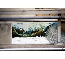 Sewer Water Photographic Print