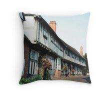 Malt Mill Lane, Alcester, Warwickshire Throw Pillow