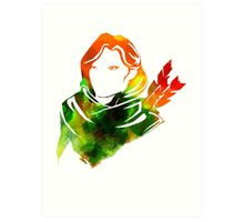 Windranger - Dota 2 Art Print