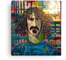 Zappa en regalia Canvas Print