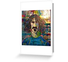 Zappa en regalia Greeting Card