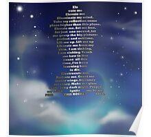 rocket poem Poster