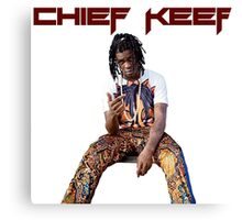 Chief Keef design Canvas Print