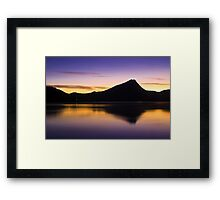 The Dawn of Paradise Framed Print