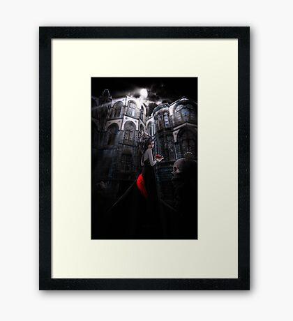 Miss Murder Framed Print