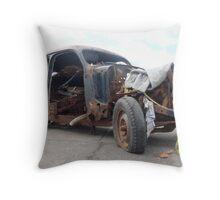 Rusty Bug Throw Pillow