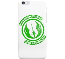 The Force is strong with this one.... iPhone Case/Skin