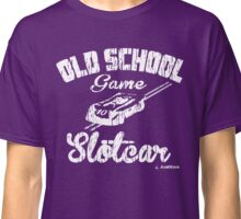 Oldschool game Slotcar white Classic T-Shirt