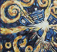 Doctor Who Leggings by CJFlesner