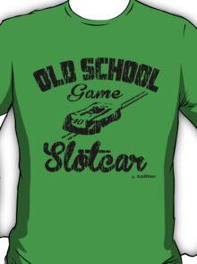 Oldschool game Slotcar black T-Shirt