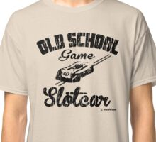 Oldschool game Slotcar black Classic T-Shirt