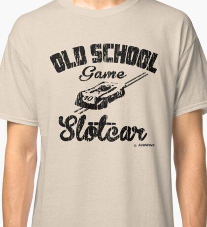 Oldschool game Slotcar black Classic T-Shirt