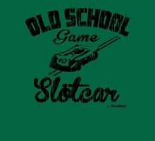 Oldschool game Slotcar black Unisex T-Shirt