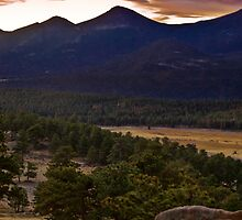 Sunrise At Upper Beaver Meadows by John  De Bord Photography